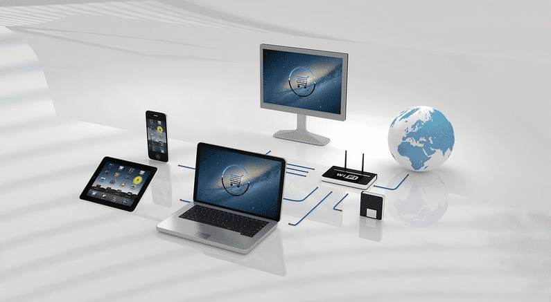 all digital devices networked | wordpress website | Peace Evolution