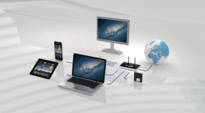 digital devices on desk networked 300x165 1 | wordpress partner | Peace Evolution
