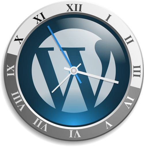 wordpress symbol clock | wordpress service | Peace Evolution