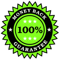 100 percent money back guarantee seal | reduce your weight | Peace Evolution
