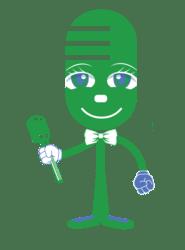 live green smart mascot | smart home | Peace Evolution