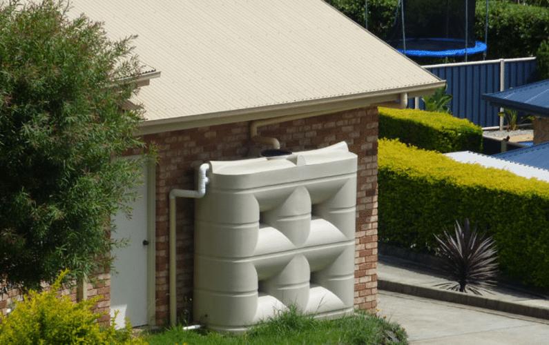 residential slimline rainwater tank | Peace Evolution