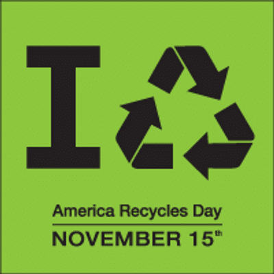 America Recycles Day   Recycling day   Peace Evolution